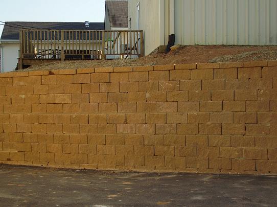 mure de soutien Keystone